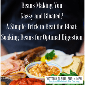 soaking beans to reduce gas and bloating
