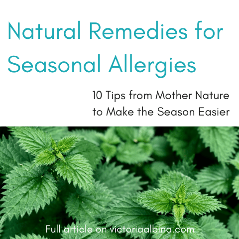 Natural Remedies for Seasonal Allergies