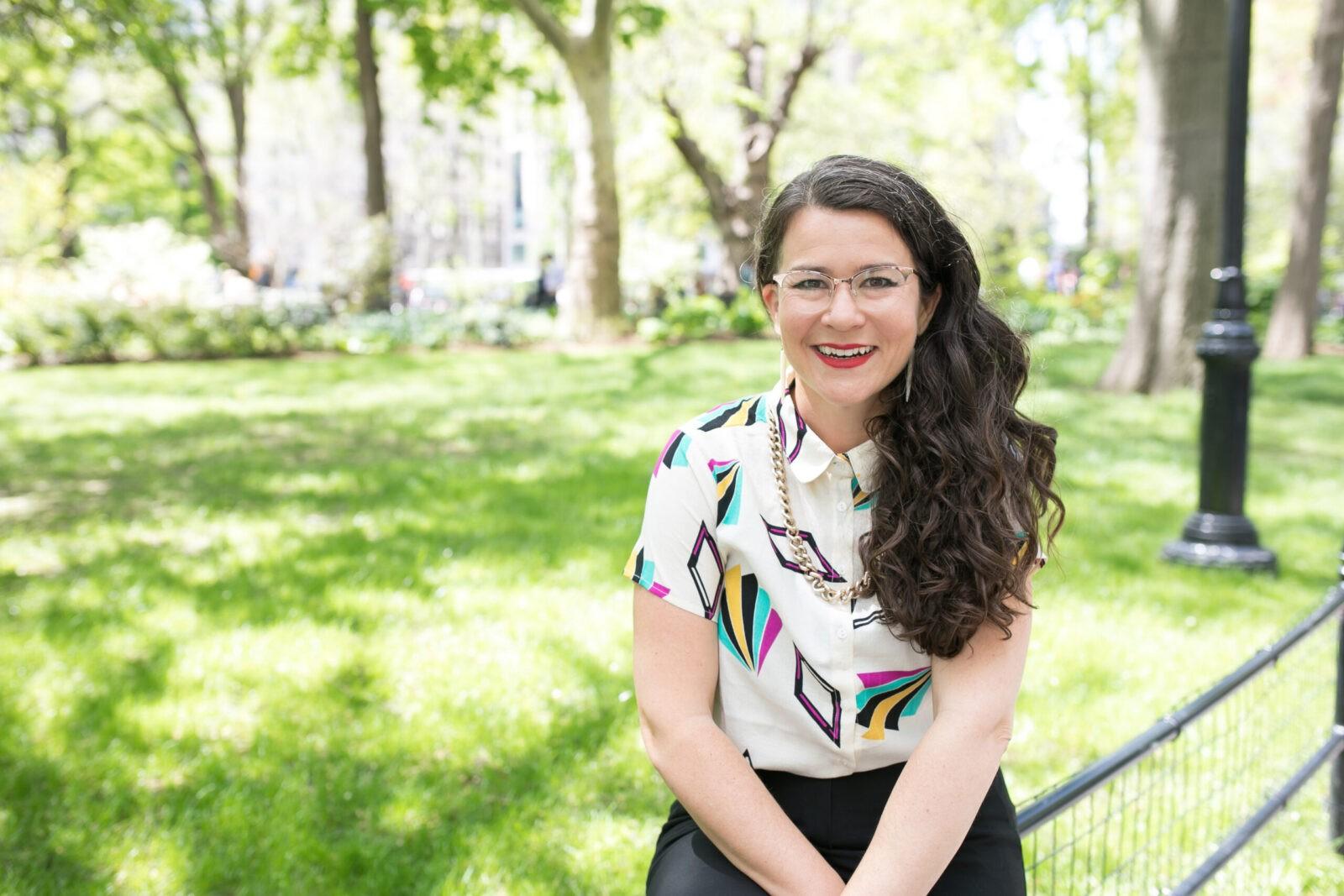 Victoria Albina in Madison Square Park