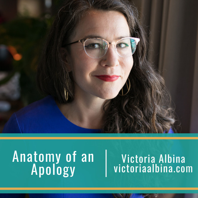 Anatomy of an Apology