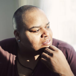 Toshi Reagon photographed at her home in Brooklyn, NY on January 13, 2011.Photo Credit: Erica Beckman